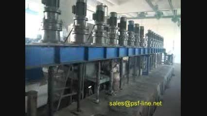خط تولید الیاف پلی استر از پت بازیافتی(تکنولوژی جدید}