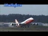 از اولین پرواز 747/800 تا پرواز های بین قاره ای