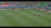 گل ایران به بوسنی در جام جهانی 2014 برزیل