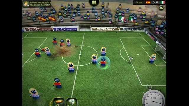 football LOL گیم پلی بازی فوتبال لول(ته خنده)