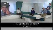 اجرای زنده تلویزیونی مهران بهدوست با زیرنویس ترکی