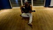 گیتار زدن امیر عباس خواننده تیتراژ سریال ستایش