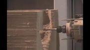 ماشین کاری مدل چوبی در CNC پنج محوره