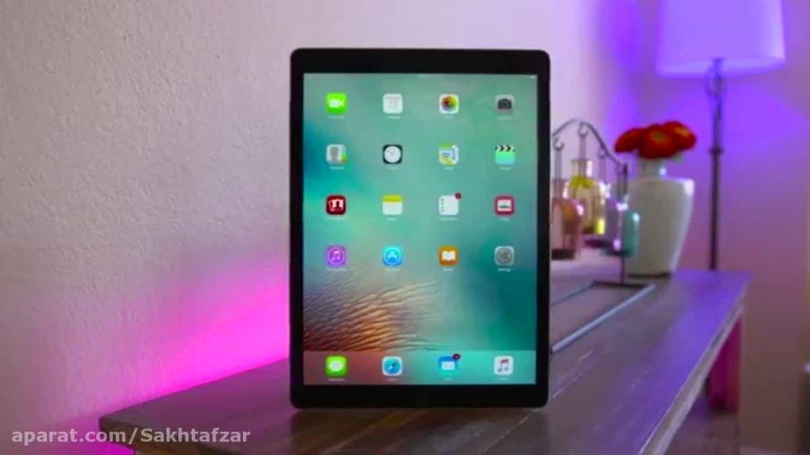 بررسی ویدیویی آیپد پرو (iPad Pro)