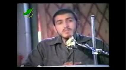 شهید زین الدین( منتظر امام زمان یعنی منتظر شهادت )