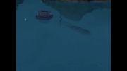 کرکن در بازی سیمز 3 جزیره بهشت