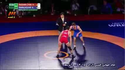 جام جهانی کشتی آزاد 2015: ایران - آذربایجان