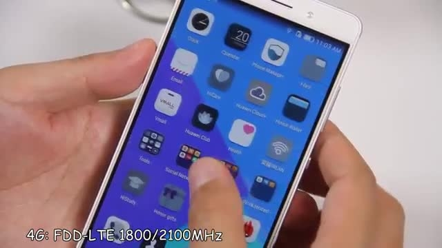 HUAWEI Honor 7 Unboxing آنباکس