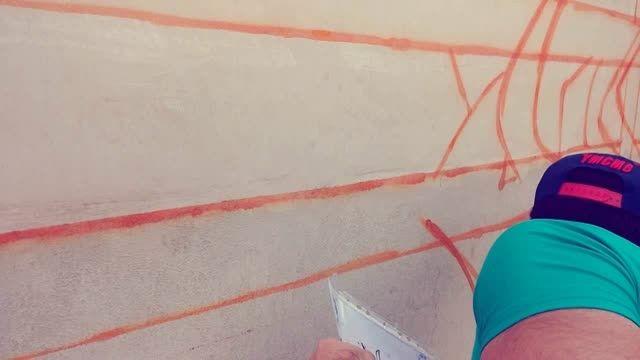گرافیتی رضا ریوتر برای سهراب سپهری