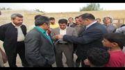 بازدید نماینده شادگان حاج عبدالله تمیمی از کوی جهان آرا