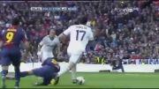 خلاصه بازی رئال مادرید vs بارسلونا | 2 - 1 | هفته 26 لالیگا