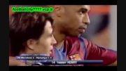 10 گل برتر تیری آنری برای بارسلونا