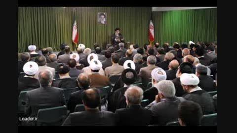مقام معظم رهبری در واکنش به رفتاری برخی نمایندگان مجلس