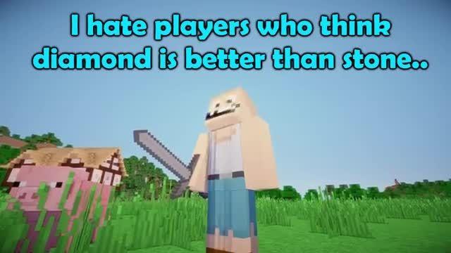 اگر جای الماس و سنگ عوض شه | Minecraft