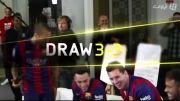 تبلیغ بازی فیفا 15 با حضور بازیکنان بنام بارسلونا
