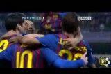 گل چهارم بارسا و هتریک لئو مسی مقابل مالاگا