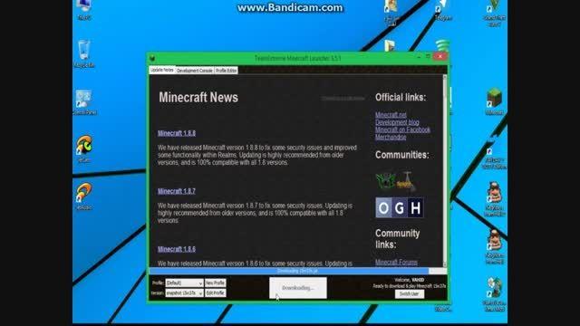 ویژگی های جدید MINECRAFT 1.9.2(جدید)