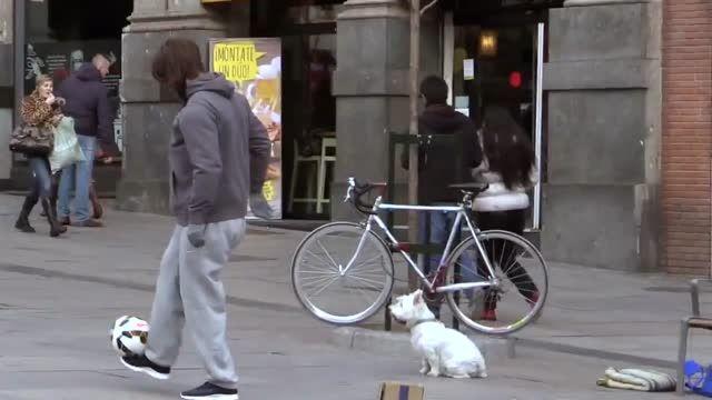 کریس رونالدو با ظاهر مخفی در خیابان | HD | ترجمه