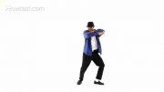 آموزش رقص Smooth Criminal شبیه مایکل جکسون