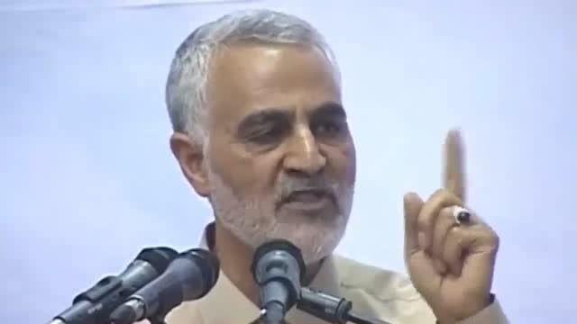 سردار سلیمانی خطاب به اوباما: هیچ غلطی در عراق نکردید!
