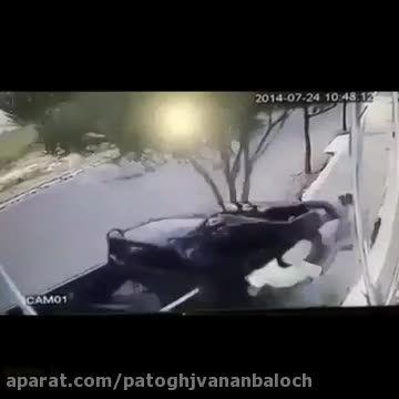 تصادف خطرناک