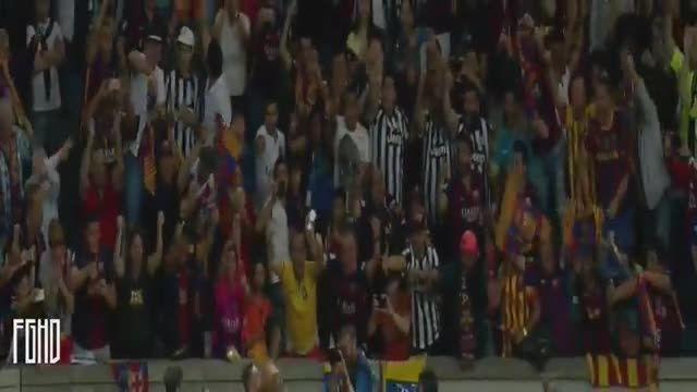 بارسلونا 3 - 1 یوونتوس (گل نیمار)