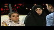 احسان علیخانی اشک بچه هفت ساله رو در اورد