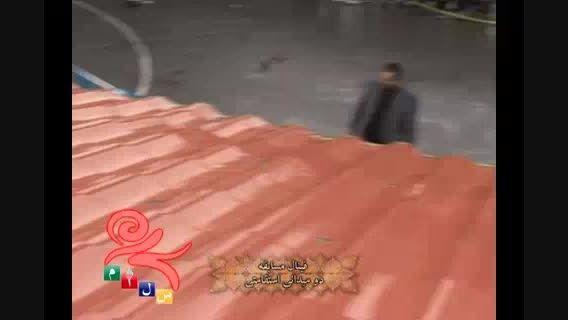 فینال دو امدادی در المپیاد ورزشی دبیرستان سلام تجریش