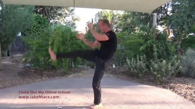 تمرین شدت ضربات در دفاع شخصی