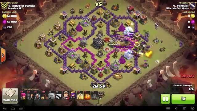 Clash of Clans - TH9 - GoHo - War 74 vs Iranian 121 - t
