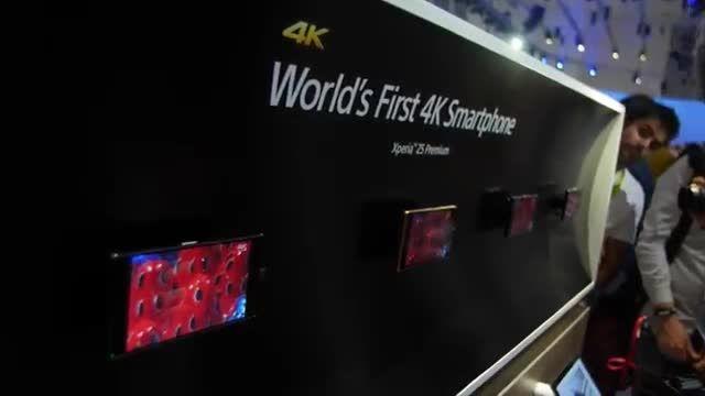 سونی اکسپریا Z5 اولین گوشی 4K جهان