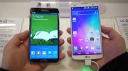 LG G Pro 2 vs Samsung Galaxy Note 3- First Look - YouTube