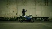 موتور سواری خنده دار!!!!!