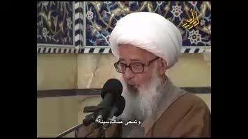 زیارت امام حسین ع زیارت خود خداست اززبان آیت الله وحید