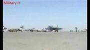 زیبایی پرواز F-14 های ایرانی ( جنگنده - نیروی هوایی ایران - خلبانان )