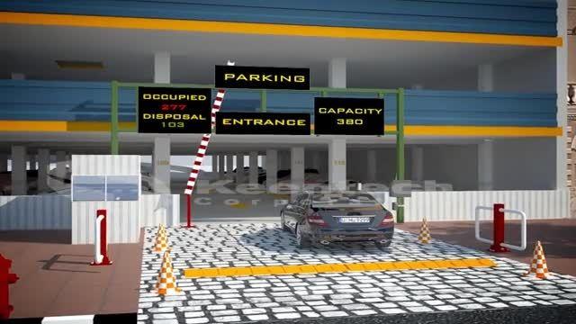 پارکینگ هوشمند مکانیزه