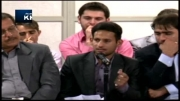 شعرخوانی مرتضی حیدری آل کثیر در محضر رهبر انقلاب