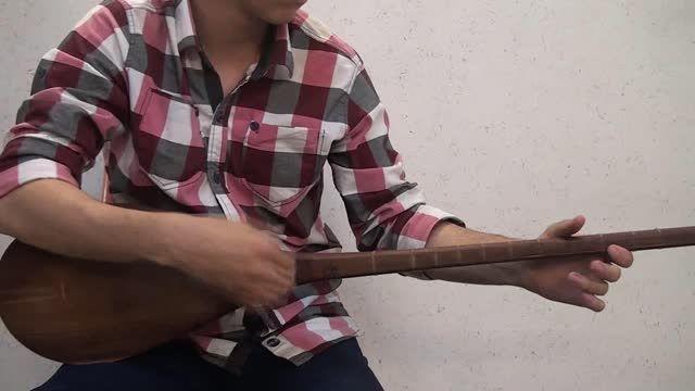 دوتار دختر قوچانی با هنرمندی استاد محمد رهنما