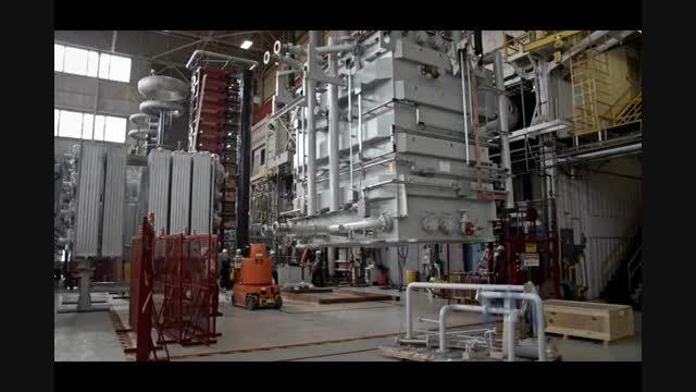تولید ترانسفورماتور قدرت در کارخانه ABB