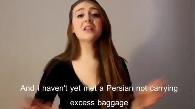 مسافرت ایرانی ها از زبان دختر آمریکایی-ایرانی