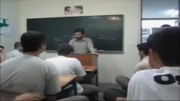 کلاس درس عربی یا (کلاس رقص عربی)؟؟مسعله این است