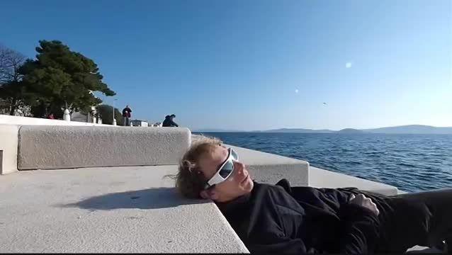 سمفونی دریا در شهر زادار کرواسی