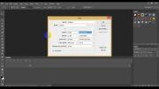 آموزش ساخت حاشیه زیبا برای متن - آقای گرافیک