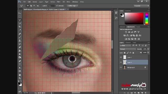 آموزش فتوشاپ : ساخت تصاویر پرتره چند وجهی در فتوشاپ