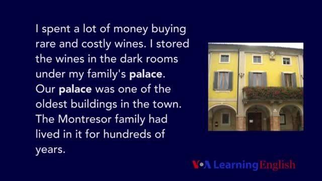 VOA LE - American Stories: The Cask of Amontillado