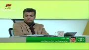 برنامه 90 - تماس تلفنی با علی دایی و پاسخ دایی به کریمی
