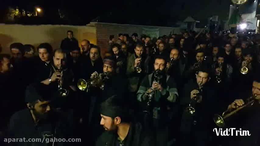 شب عاشورای سال ۱۳۹۴ گروه موزیک دماوند
