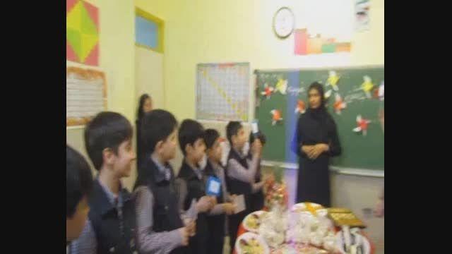 جشن ضرب- پایه سوم دبستان سلام همت