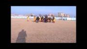 شادی تیم نوجوانان پارس آباد  بعد از قهرمانی در استان اردبیل