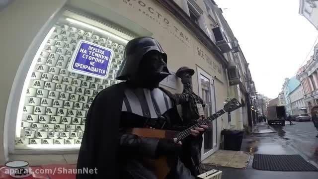Star Wars جنگ ستارگان تبلیغ کنسرت و رستوران در روسیه